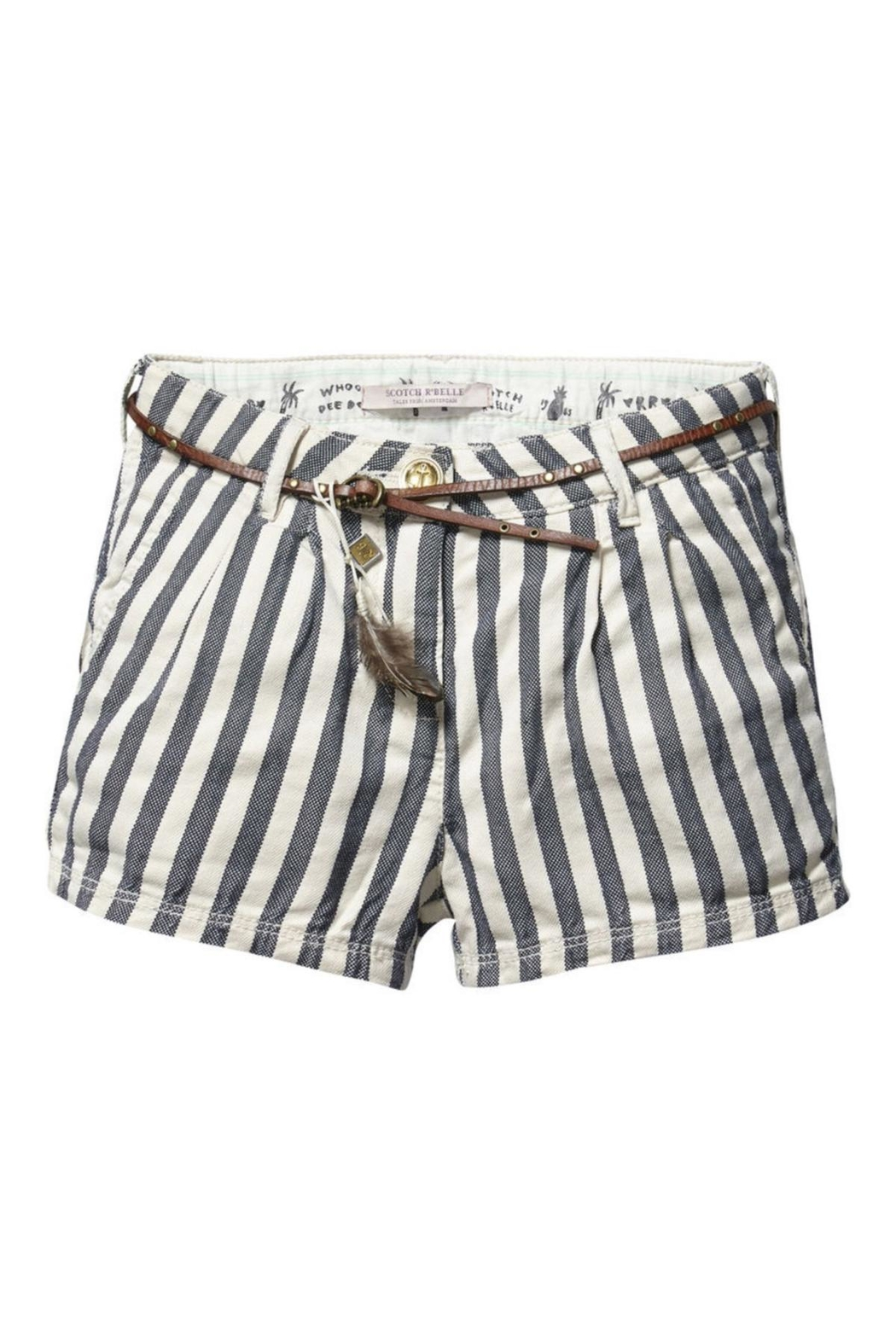 Scotch R'Belle Railroad Stripe Short - Main Image