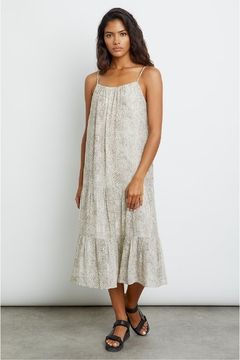 Rails Adora Dress Cream Snakeskin - Alternate List Image