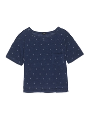 Rails Anchor Print Tee - Front cropped