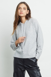 Rails Aster Sweater Heather Grey - Front cropped