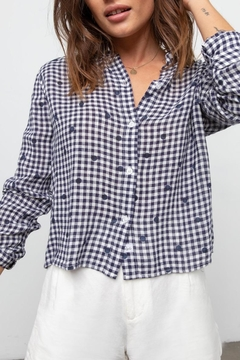 Rails Audrey Navy/gingham Dots - Product List Image