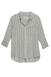 Rails Charli Sage Stripe Top - Product Mini Image