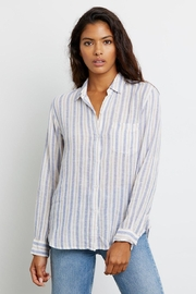 Rails Charlie Button Down Bacara Stripe - Product Mini Image