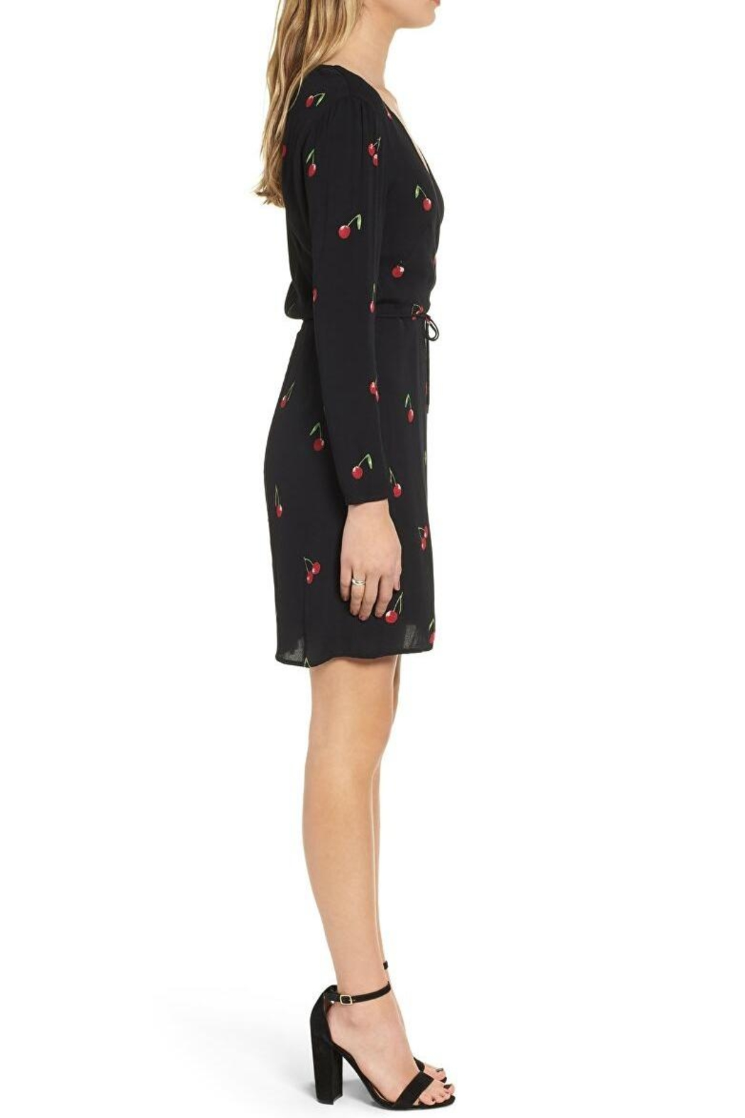 Rails Cherry Wrap Dress - Front Full Image