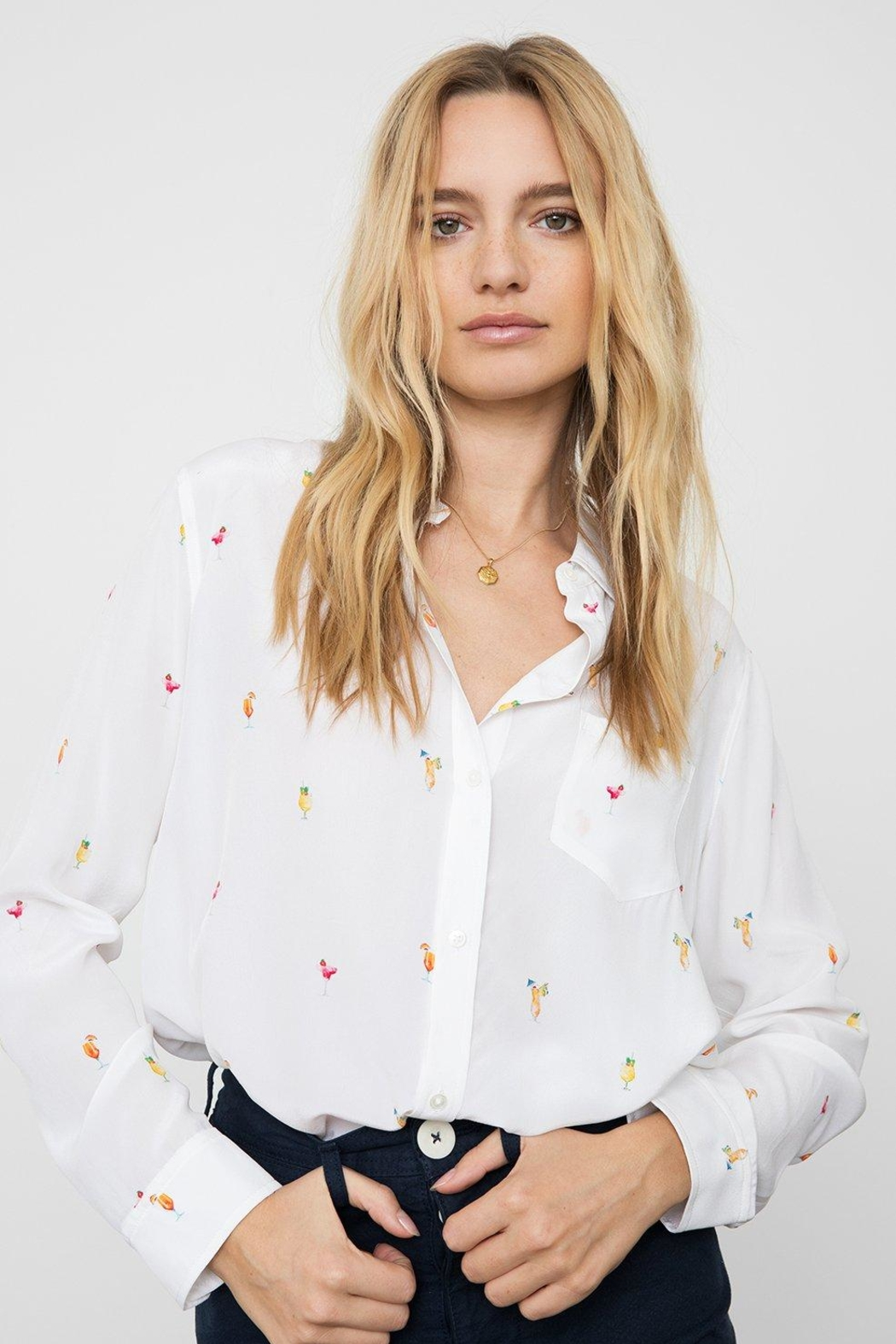 Rails Cocktail Shirt - Front Cropped Image