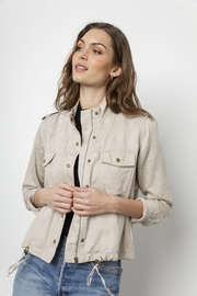 Rails Collins Cheetah Jacket - Front cropped