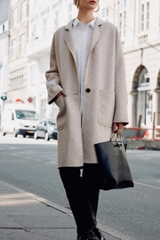 Rails Everest Oatmeal Trench - Back cropped