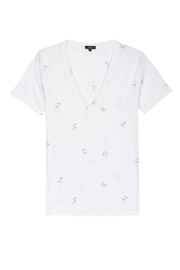 Rails Flamingo Tee - Front cropped