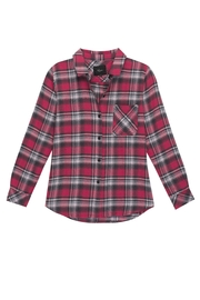 Rails Flannel Plaid Shirt - Front cropped