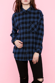 Shoptiques Product: Blue Button-Down Shirt