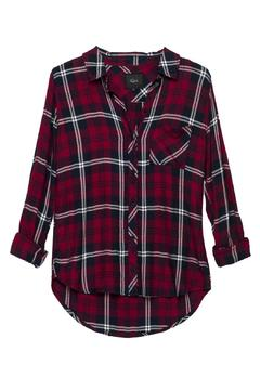 Rails Hunter Cherry Button-Down - Alternate List Image