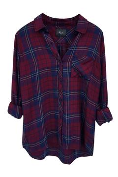 Rails Hunter Oxblood Button Down - Alternate List Image