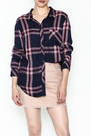 Rails Hunter Plaid Top - Front cropped