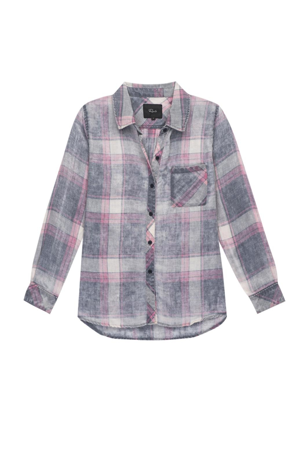 Rails Hunter Cloud Wash Shirt - Front Cropped Image