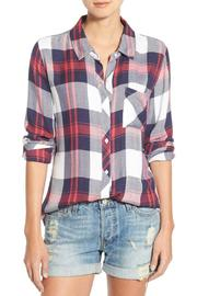 Rails Hunter Button Down - Front cropped
