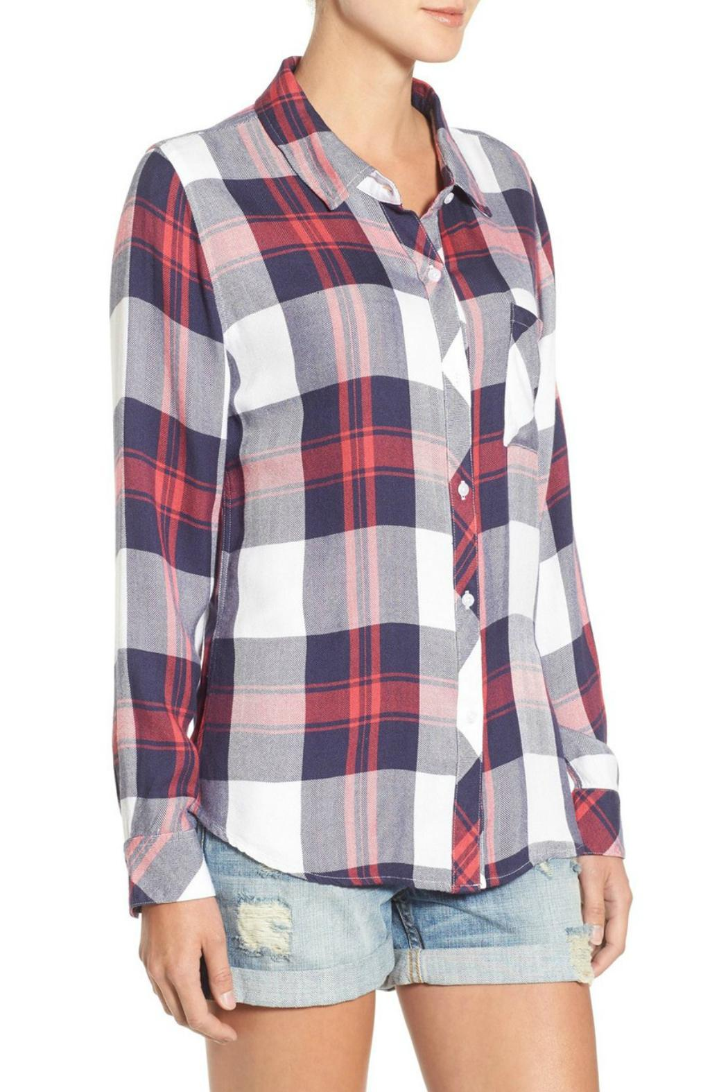 Rails Hunter Button Down - Side Cropped Image