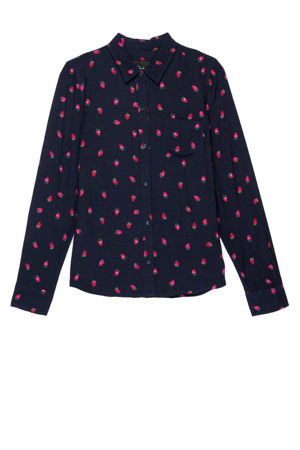 Rails Kate Strawberry Shirt - Main Image