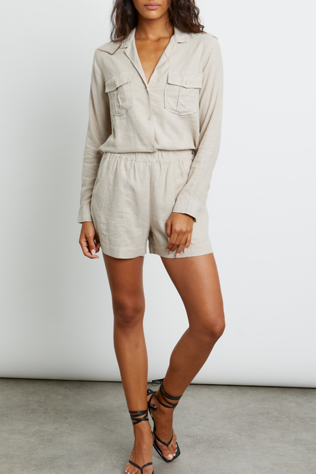 Rails Clothing RAILS LIGHTWEIGHT LINE BUTTON DOWN - Back Cropped Image