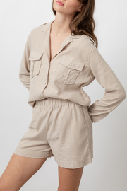 Rails Clothing RAILS LIGHTWEIGHT LINE BUTTON DOWN - Front cropped