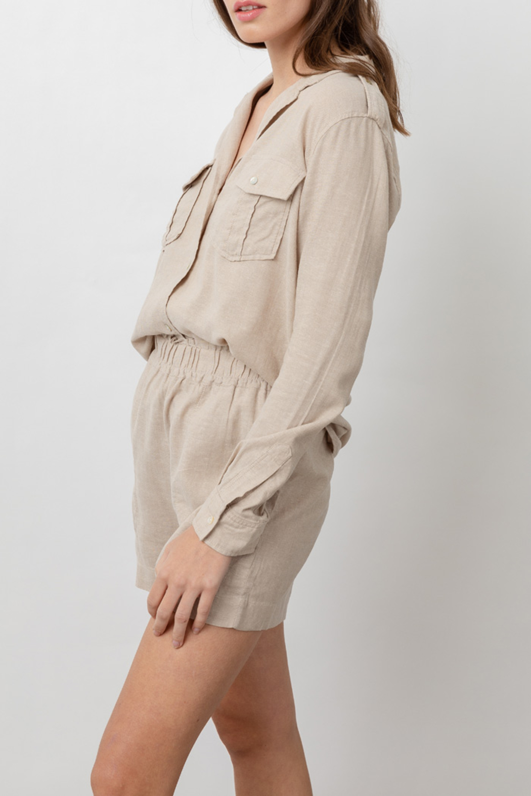 Rails Clothing RAILS LIGHTWEIGHT LINE BUTTON DOWN - Front Full Image