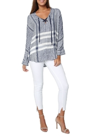 Rails Lily Jacquard Top - Front full body
