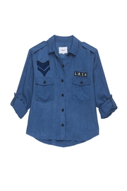 Rails Patch Button Down Shirt - Product Mini Image