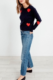 Rails Perci Navy Hearts - Front cropped