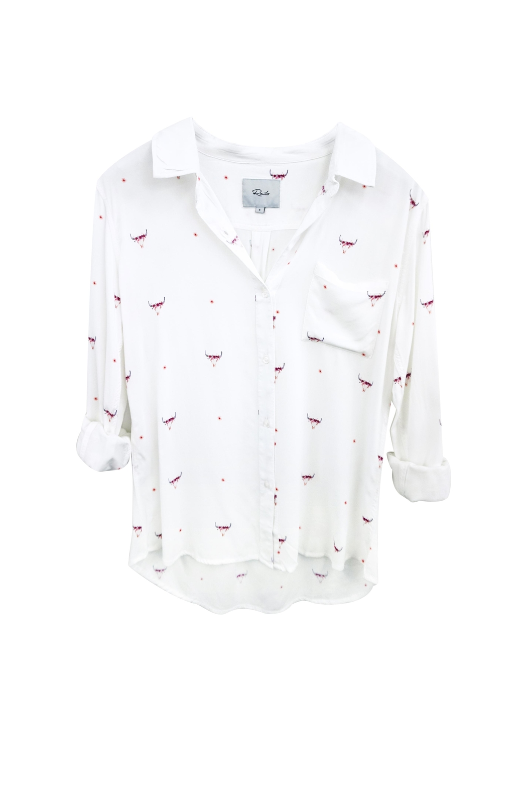 Rails Button Up - Front Cropped Image