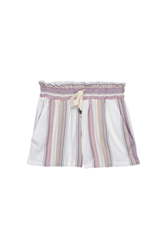 Shoptiques Product: Stripe Drawstring Short