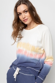 Rails Sunrise Tie-Dye Pullover - Front cropped