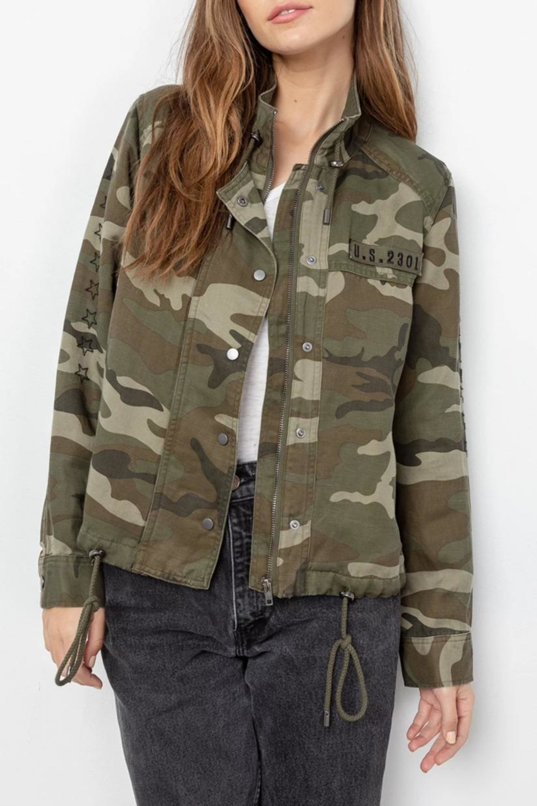 Rails Tennessee Jungle/camo Jacket - Front Cropped Image