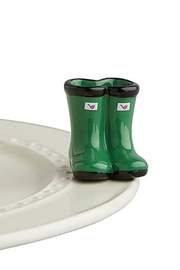 Nora Fleming Rain Boots Mini - Front cropped