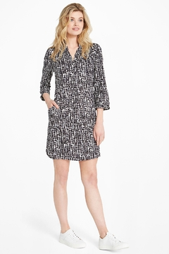 Nic +Zoe Rain Dots Dress - Product List Image