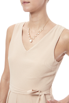 Shoptiques Product: Pearl Drop Necklace