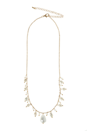 Rain Pearl Drop Necklace - Front cropped