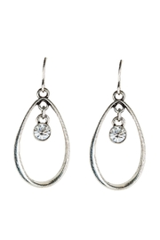 Rain Jewelry Crystal Teardrop Earrings - Product Mini Image