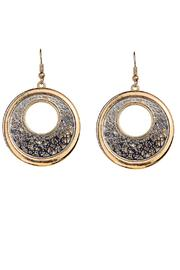 Rain Jewelry Filigree Overlay Earrings - Product Mini Image