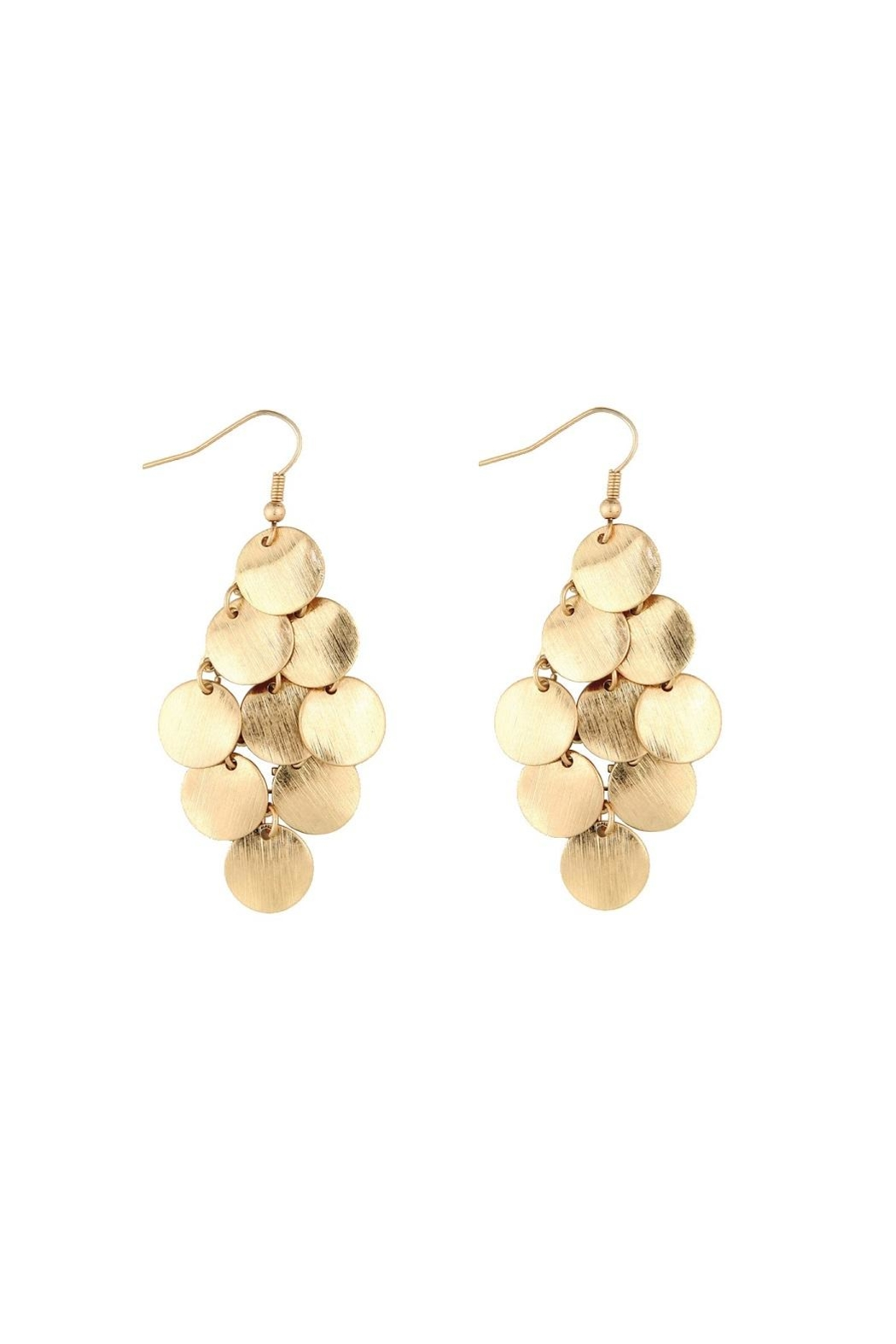 Rain Jewelry Gold Chandelier Earrings - Front Cropped Image