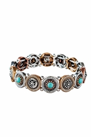 Rain Jewelry Multi Dot Bracelet - Front cropped
