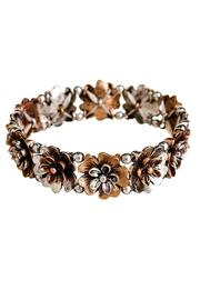 Rain Jewelry Multi Metal Flower Bracelet - Product Mini Image