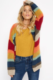 Charlie B. Rainbow Cardigan - Front cropped