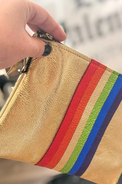 Zina Kao Rainbow Carter Leather Bag - Alternate List Image