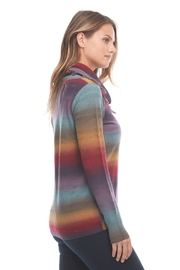 FDJ French Dressing Jeans Rainbow Cowl Neck Sweater - Product Mini Image