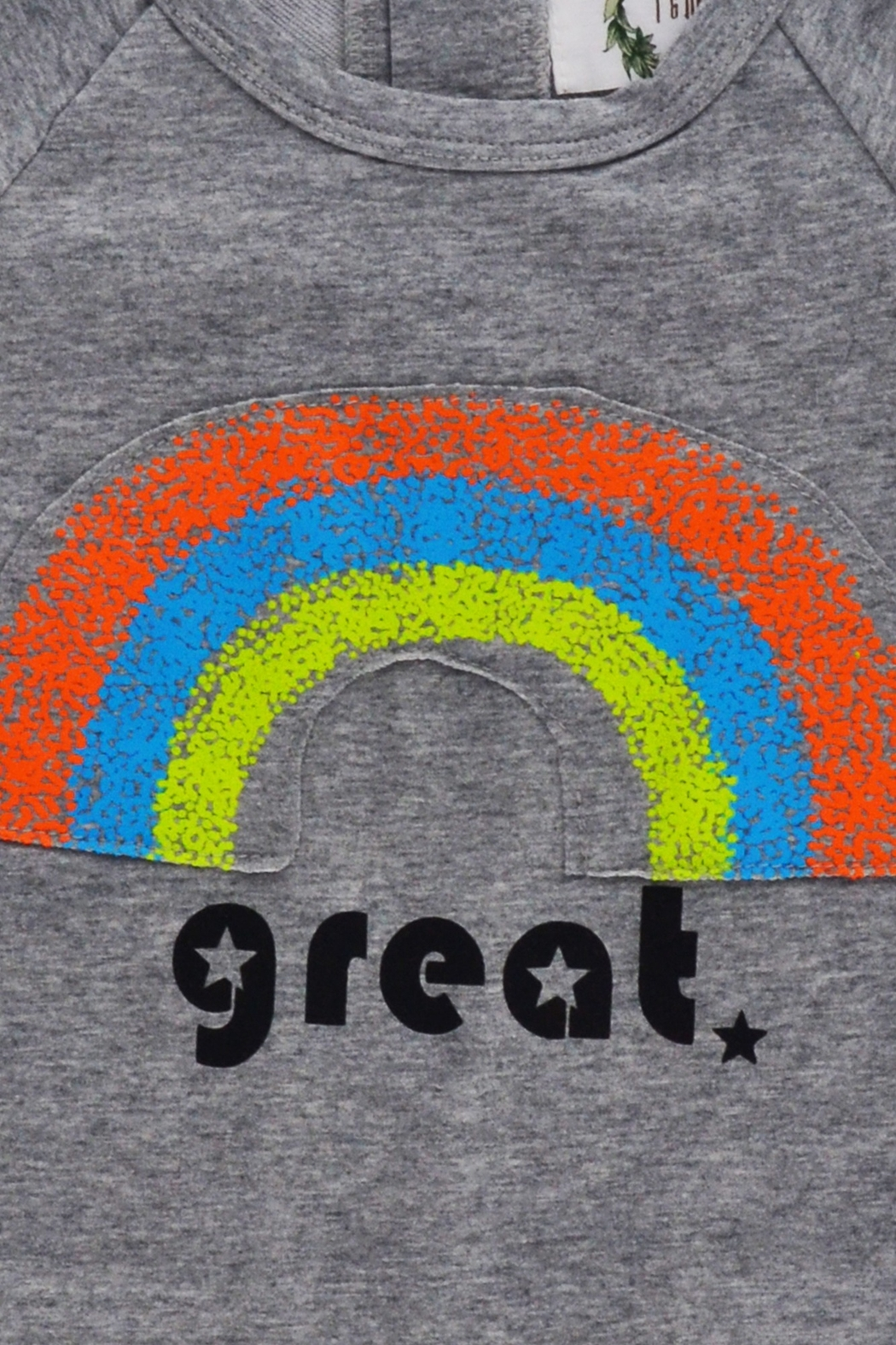 T & Tim Rainbow Dream Long-sleeve Outfit - Side Cropped Image