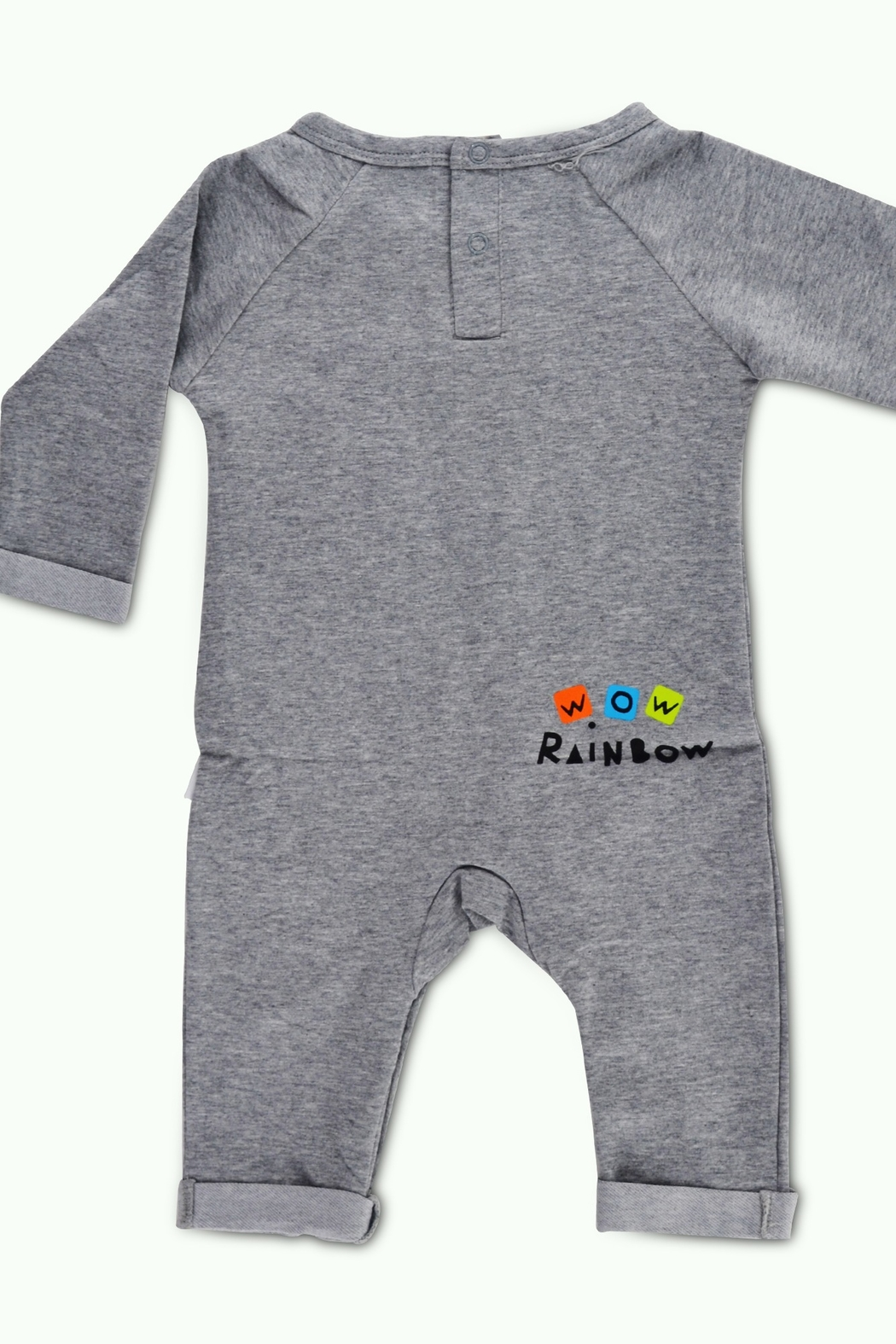T & Tim Rainbow Dream Long-sleeve Outfit - Front Full Image