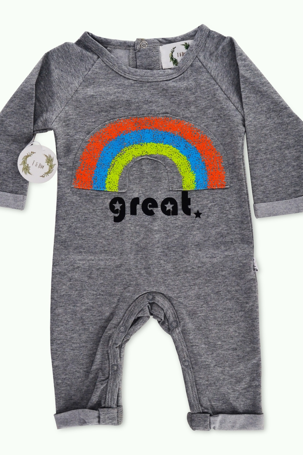 T & Tim Rainbow Dream Long-sleeve Outfit - Main Image
