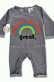 T & Tim Rainbow Dream Long-sleeve Outfit - Front cropped