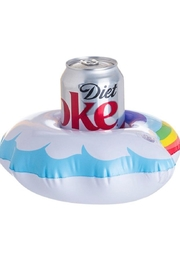 Girly Rainbow Drink Floatie - Product Mini Image
