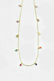 Embellish Rainbow Drops-Sterling Necklace - Product Mini Image