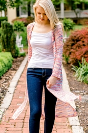 Andree by Unit Rainbow Duster Cardigan - Back cropped